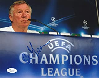 Sir Alex Ferguson Autographed Signed Manchester United 8x10 Photo Proof - JSA Authenticated