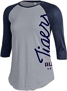Under Armour NCAA Auburn Tigers Women's Baseball Tee, Large, Navy
