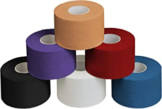 ALPIDEX 6 x Cinta Adhesiva Deportiva 3,8 cm x 10 m, Color:Colores Surtido