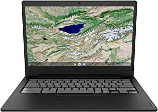 Lenovo Chromebook S340 Celeron N4000 4GB RAM 64GB SSD 14-Inch FHD Laptop, Black, 81TB000GAU