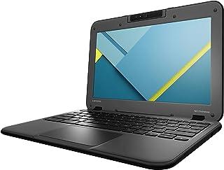 "Lenovo N22 80SF0001US 11.6"" Chromebook Intel Celeron N3050 1.60 GHz, 4GB RAM, 16GB SSD Drive, Chrome OS (Renewed)"