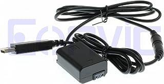 Eonvic - Batería USB de 5 V AC-PW20 + NP-FW50 NP FW50 para Sony NEX 3 NEX 5 7 SLT-A33 A55 SLT-A35 A7 A7K A7M2 A7M2K A7R A7RII A7RM2 A7S A7SII