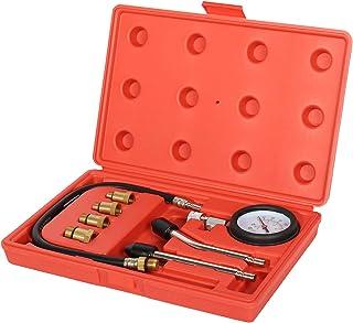 Ctzrzyt Automotive Motorcycles Petrol Engine Compression Test Gauge Tester Kit Tool Set