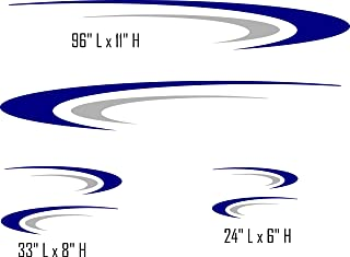 Swoosh Trail RV Trailer Cruiser Keystone Coachman Motor Home Camper Replacement Decals Stickers Graphics SW05