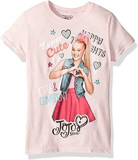 Jojo Siwa Girls Cute & Confident Short Sleeve T-Shirt