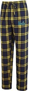 Men's NCAA-Homestretch-Plaid Sleepwear Pajama Pants-With Pockets