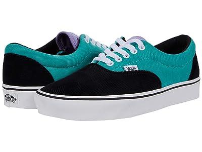 Vans ComfyCush Era (Cord Black/Verbena/Marine) Athletic Shoes