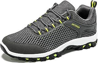 أحذية المشي لمسافات طويلة للرجال والنساء، أحذية المشي في الهواء الطلق في الربيع والصيف، أحذية رياضية وترفيهية، مثالية للرح...