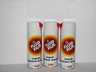 3 x Fluid Film AS R Langzeit Rostschutz Kriechöl 400ml Sprühdosen