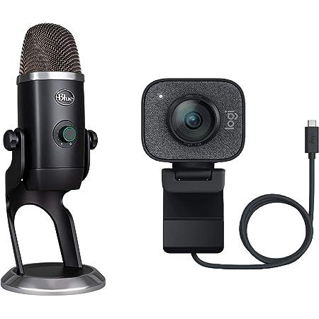 Logitech Webcam Graphite Blue Microphone Yeti X Computer Zubehör