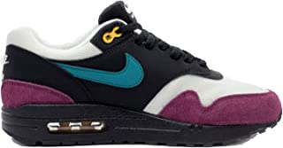 Nike Women's Air Max 1 Black/Geode Teal/Light Silver/Bordeaux 319986-040