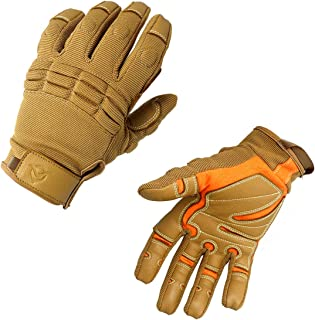 ZSCOO GuardU Full Finger Tactical Rescue Gloves Military Outdoor Protective Gloves with Wear-resistant Goatskin Palm and EVA Cushion Lightweight Breathable Fast-dry Medium