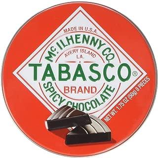 Tabasco - Spicy Dark Chocolate Wedges - Round Tin - 50g