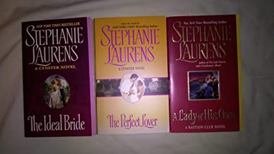 Stephanie Laurens: 3 Book set: Softcover: The Ideal Bride: A Lady of His Own: The Perfect Lover: Very Good