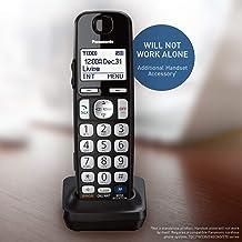 PANASONIC Cordless Phone Handset Accessory Compatible with TGE210/TGE230/TGE240/TGE270 Series Cordless Phone Systems - KX-... photo