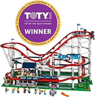 LEGO Creator Expert Roller Coaster 10261 Building Kit, 2019 (4124 Pieces)