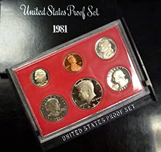1981 S US Proof Set Original Government Packaging