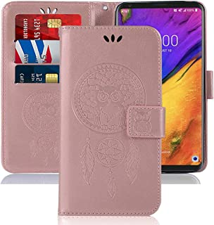 Sidande for LG V30 Case, for LG V30s,for LG V30 Plus,for LG V35,for LG V35 ThinQ Wallet Case with Card Holder, [Wrist Stra...