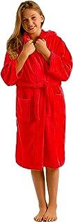 girls zip up robe