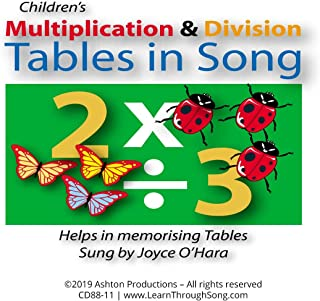 Multiplication & Division Tables in Song