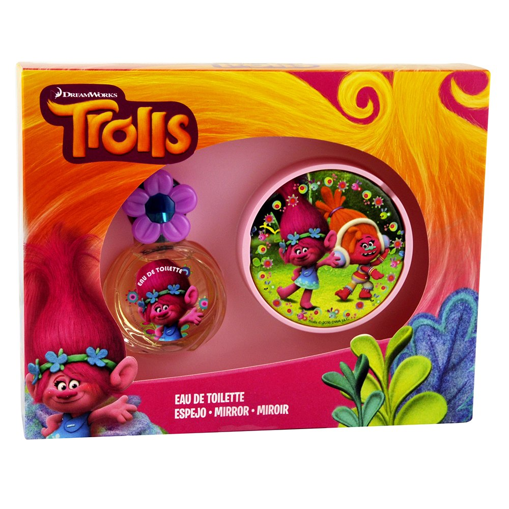 Trolls - Trolls - Estuche con colonia de 25 ml y espejo (Lorenay LN-1393), Unica (Lorenay 1393): Amazon.es: Juguetes y juegos