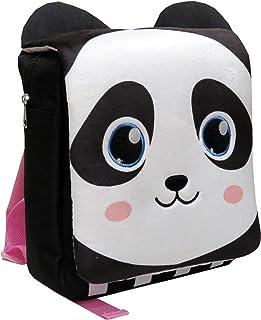 Bagoose MC-114-B Mochila infantil Oso Panda, Negro