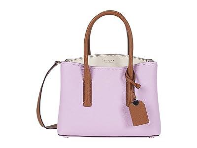 Kate Spade New York Margaux Medium Satchel (Sweet Pea Multi) Satchel Handbags