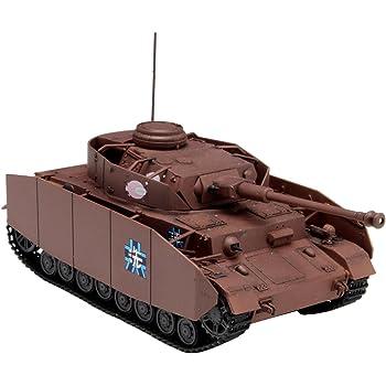 プラッツ ガールズ&パンツァー劇場版 IV号戦車D型改 (H型仕様) あんこうチーム 1/72スケール プラモデル GP72-4