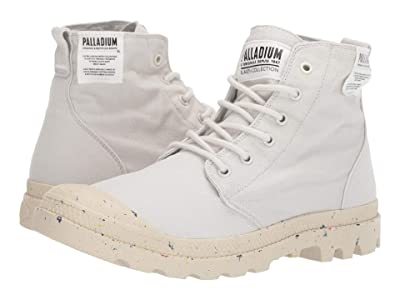 Palladium Pampa Hi Organic (Vaporous Grey) Men