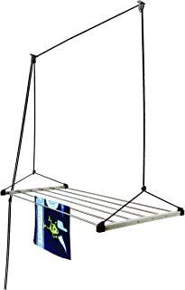 Homwell Heavy Duty 6 Pipe X 6 Feet (Blue) Economy Model with UV Protected Nylon Rope Ceiling Cloth Drying Stand/Clothes Dr...