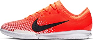 Nike Men`s Vapor 12 Pro IC Soccer Shoes (Hyper Crimson/Black-White)
