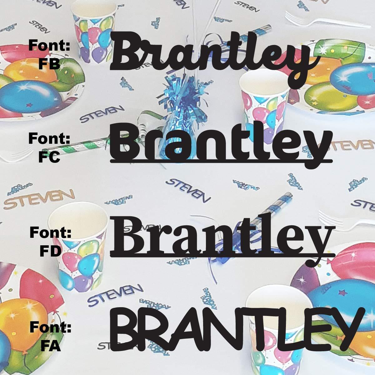 Spring new work BRANTLEY - Name Confetti Max 76% OFF in Colors. Confett Includes Metallic 12