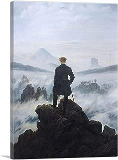ARTCANVAS The Wanderer Above The Sea of Fog 1818 Canvas Art Print by Caspar David Friedrich - 26
