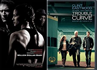 Clint Eastwood Trouble With The Curve DVD + Million Dollar Baby Special Edition Double Feature movie set