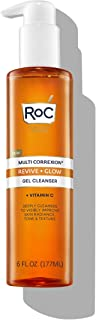 Sponsored Ad - RoC Multi Correxion Revive + Glow Gel Cleanser With Vitamin C and Glycolic Acid, Citrus 6 Ounce
