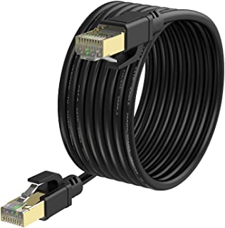YixGH Cat8 Ethernet Cable 25ft, Internet Network Cord,...