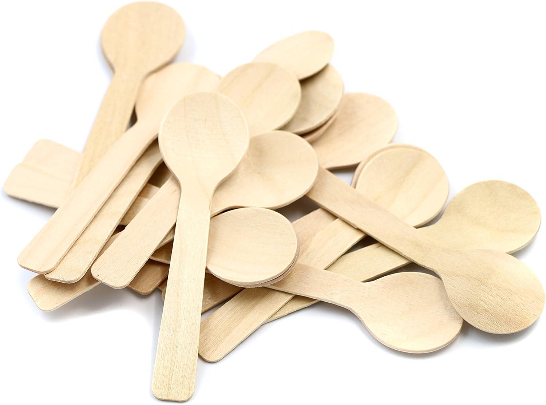 Disposable Plastic Fork Mini Ice Cream Spoon Dessert Wedding Party GZ