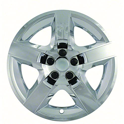2008, 2009, 2010, 2011, 2012 Chevy Malibu Chrome Factory Replica Wheel Covers