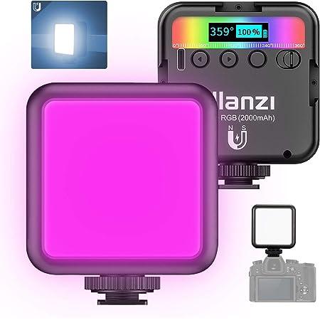 Ulanzi Vl49 Rgb Videoleuchte Led Zweifarben Taschenlampe Kamera