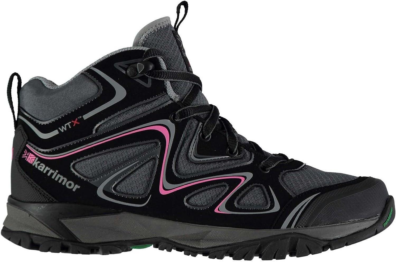 Karrimor Surge Mid gående stövlar kvinnor svart Hiking Treking skor skor skor Footwear  unik form