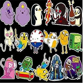 Adventure Time Stickers (30pcs), Cartoon Vinyl Laptop Waterproof Sticker Skateboard Pad MacBook Car Snowboard Bicycle Luggage Decal