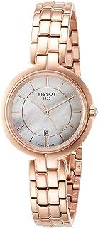 تيسو فلامينجو أبيض مينا لؤلؤية ساعة للسيدات T094.210.33.111.01