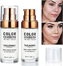 Firstfly All-Day Flawless Foundation Makeup, Color Changing Foundation, Foundation Cream, Liquid Foundation,30ml, SPF 15, Lightweight, Warm Skin Tone