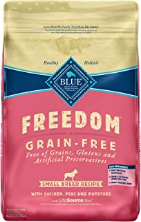 Blue Buffalo Freedom Grain Free Natural Adult Small Breed Dry Dog Food