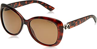 Polaroid Women's PLD 4050/S SP Sunglasses, Dark Havana, 58