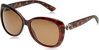 Polaroid Women's PLD 4050/S SP Sunglasses, Dark Havana, 58