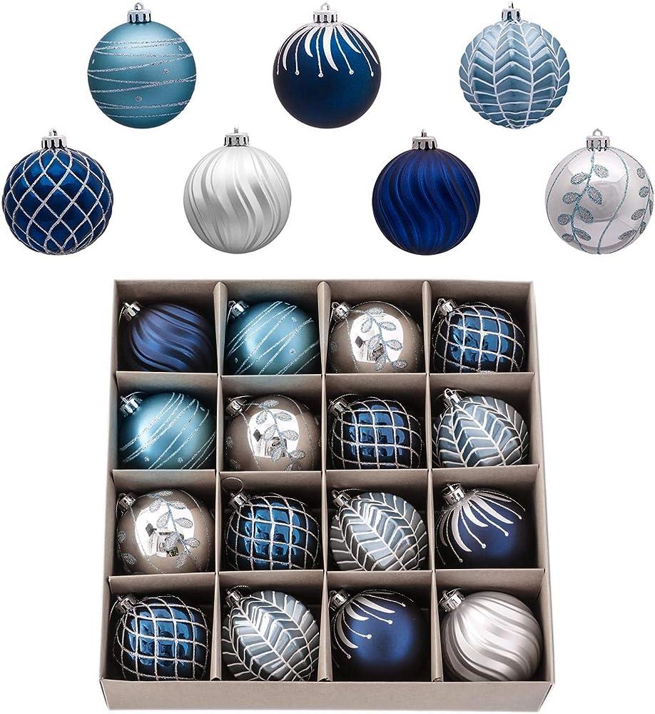 Valery madelyn palle di natale 16 pezzi EG0101-0223