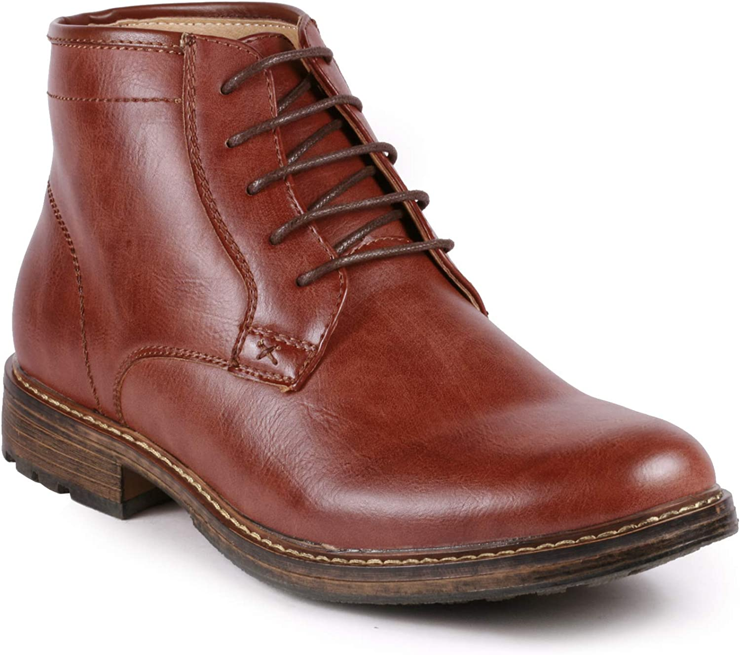 Metrocharm MC150 Men's Lace Up Casual Fashion Ankle Chukka Boots