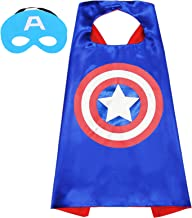 Superhero Capes and Mask for Kids Compatible Superhero Toys and Superhero Costumes Party Best Kids Gifts