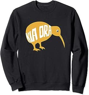 New Zealand Kiwi Bird Kia Ora Be Well Gift Sweatshirt